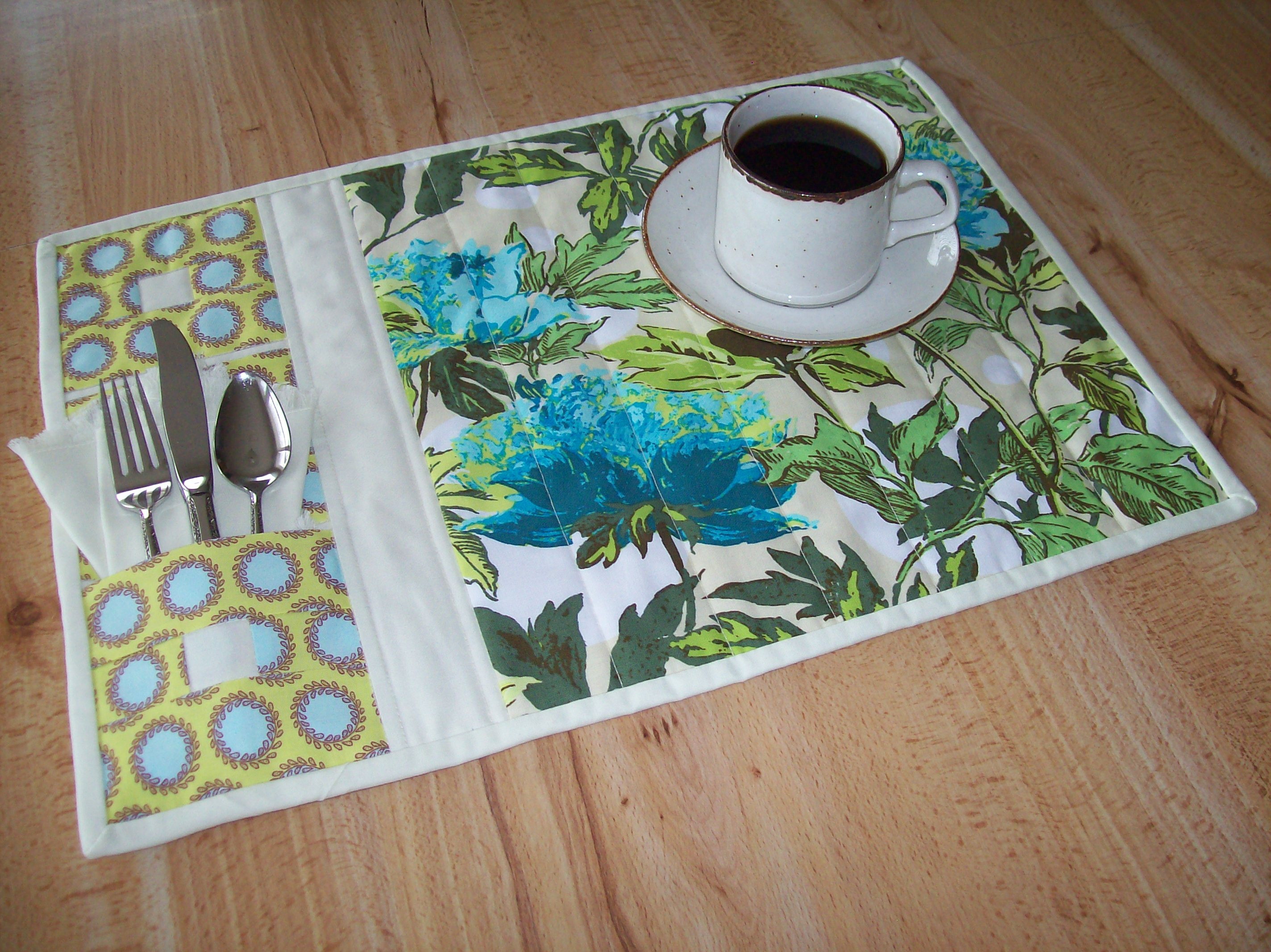 Easy Quilted Placemat Patterns For Free Cafca Info For