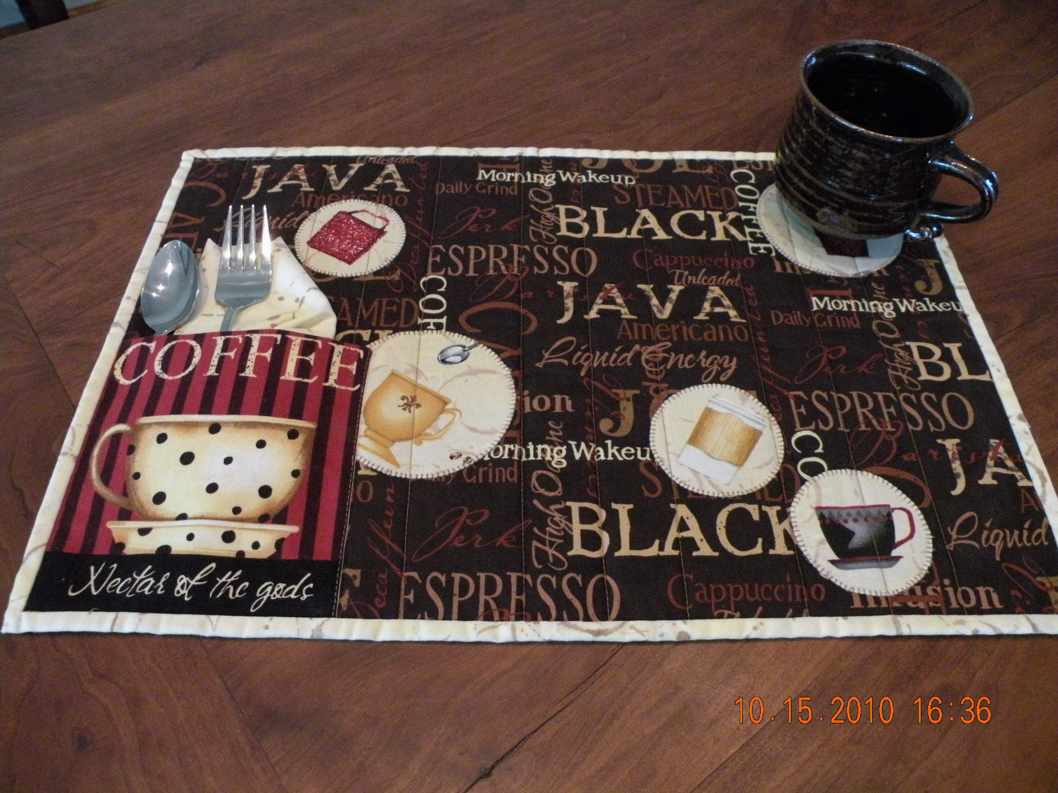 Placemat Quilt Patterns Patterns Gallery